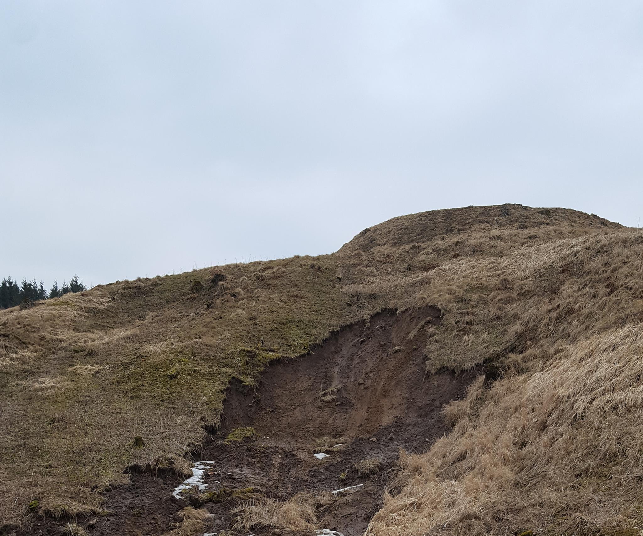 Kartenos Piliakalnis Salantu Regioninis Parkas.Piliakalniųerozija Ar Neistiks Plynai Iskirsto Kartenos